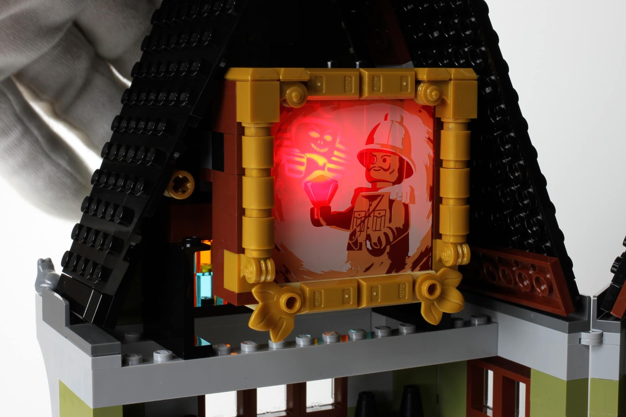 LEGO Fairground Collection 10273 Haunted House Aufbau Schritt 13 Detail 6