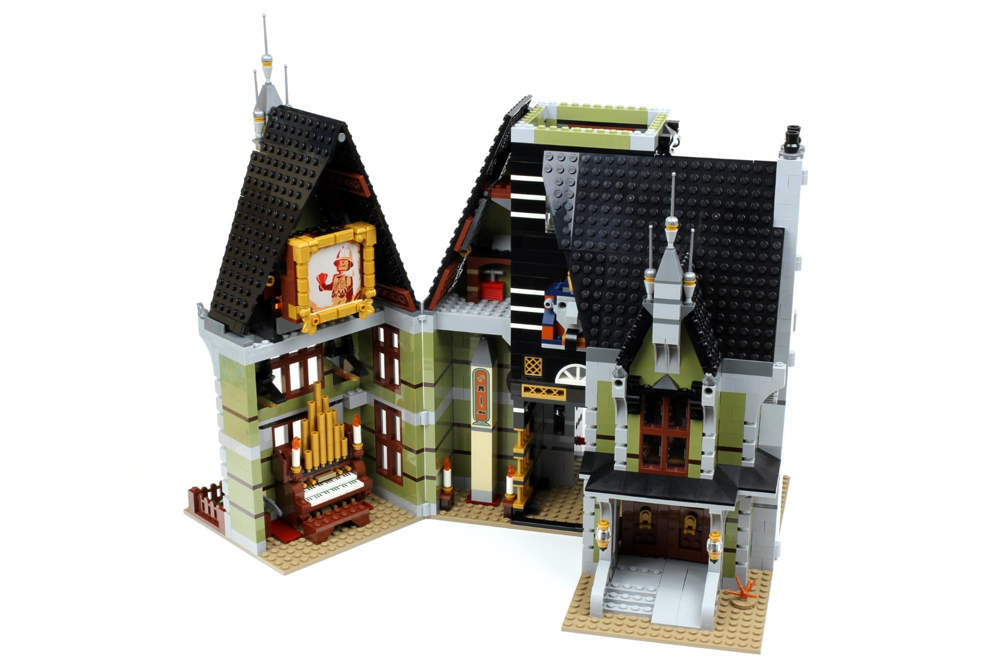 LEGO Fairground Collection 10273 Haunted House Aufbau Schritt 13