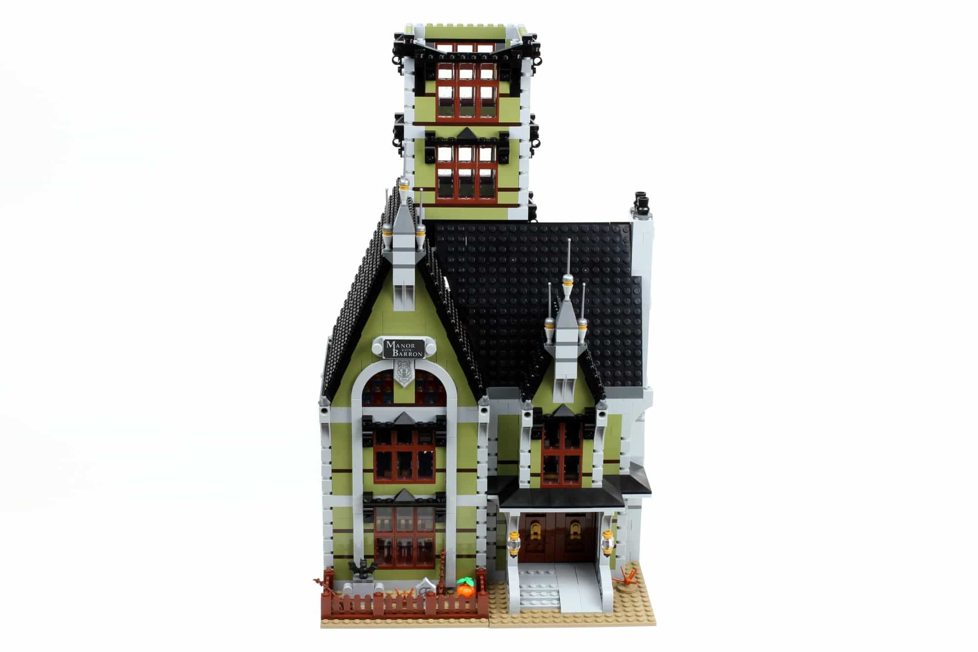 LEGO Fairground Collection 10273 Haunted House Aufbau Schritt 15 2