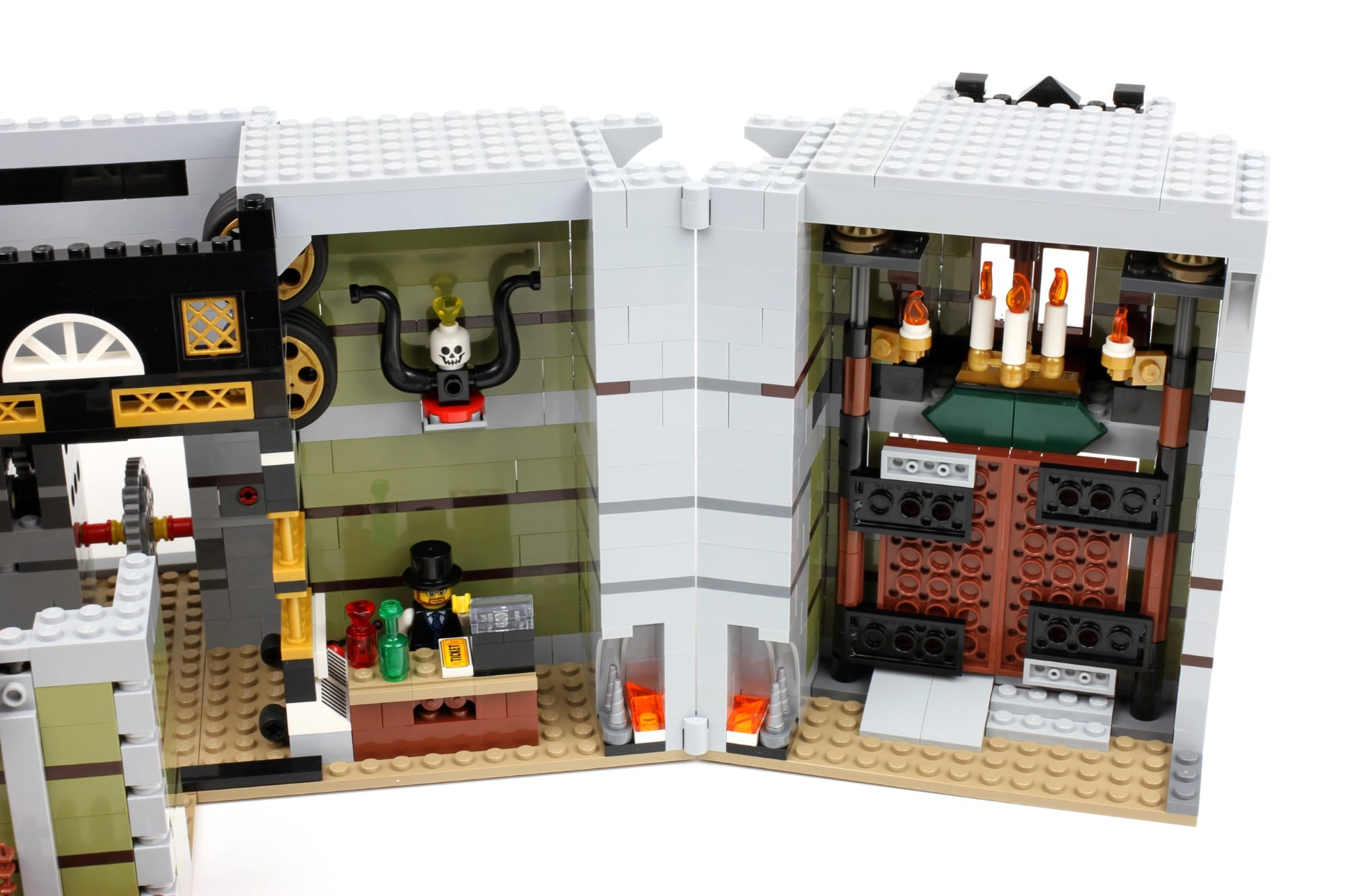 LEGO Fairground Collection 10273 Haunted House Aufbau Schritt 7 2