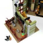 LEGO Fairground Collection 10273 Haunted House Aufbau Schritt 8 Detail