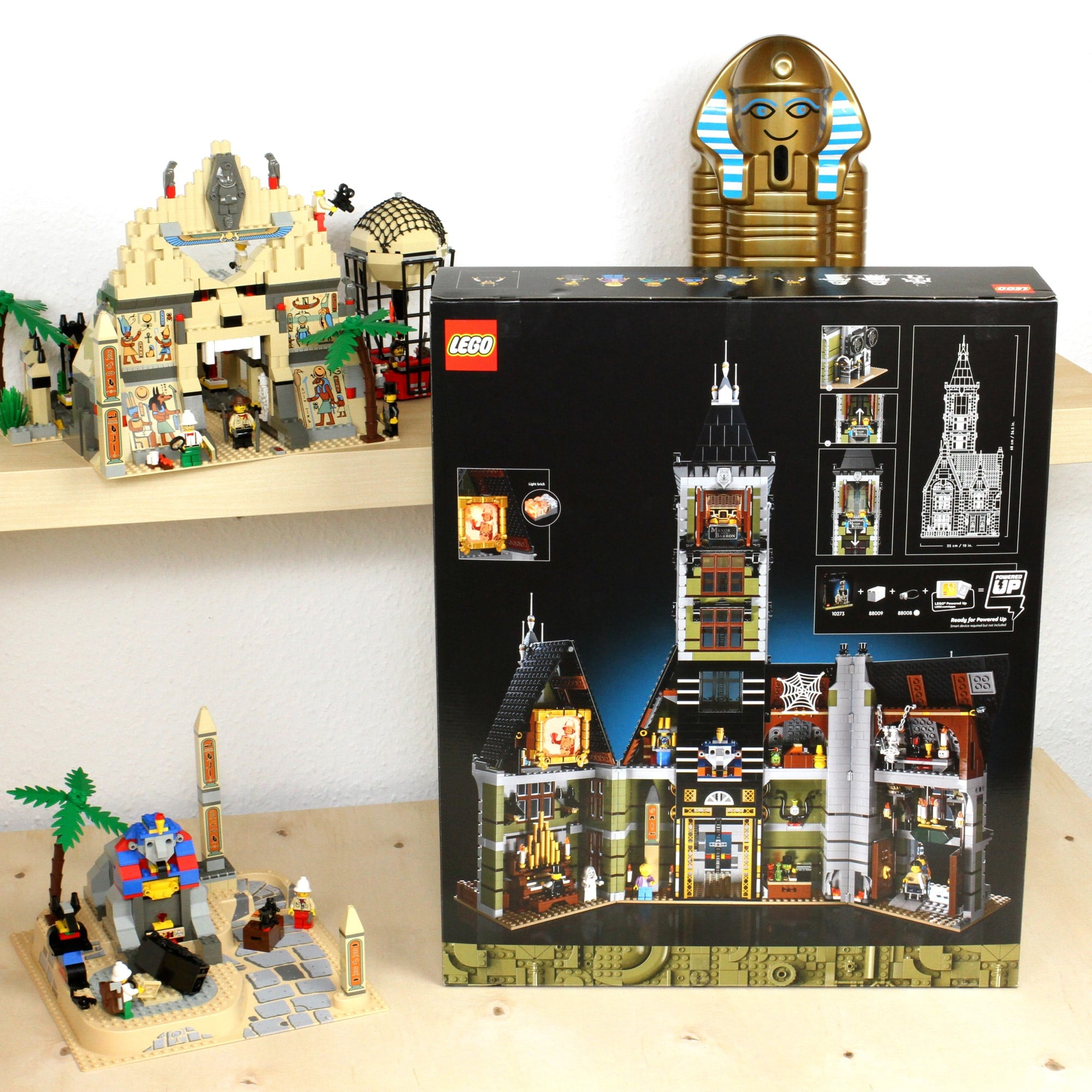 LEGO Fairground Collection 10273 Haunted House Box Rückseite 1