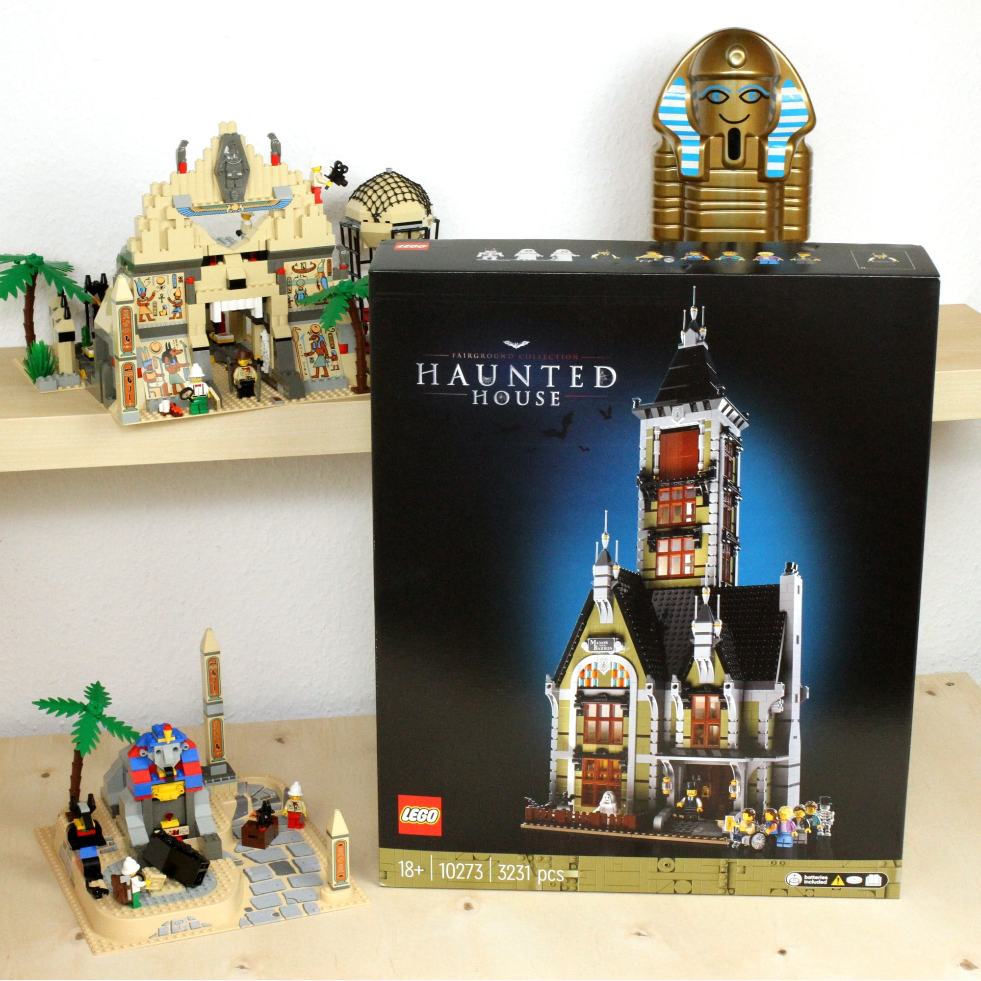 LEGO Fairground Collection 10273 Haunted House Box Vorderseite 1