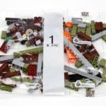 LEGO Fairground Collection 10273 Haunted House Hauptkarton Tüte Bauschritt 1