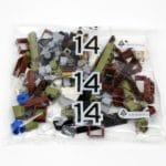 LEGO Fairground Collection 10273 Haunted House Hauptkarton Tüte Bauschritt 14