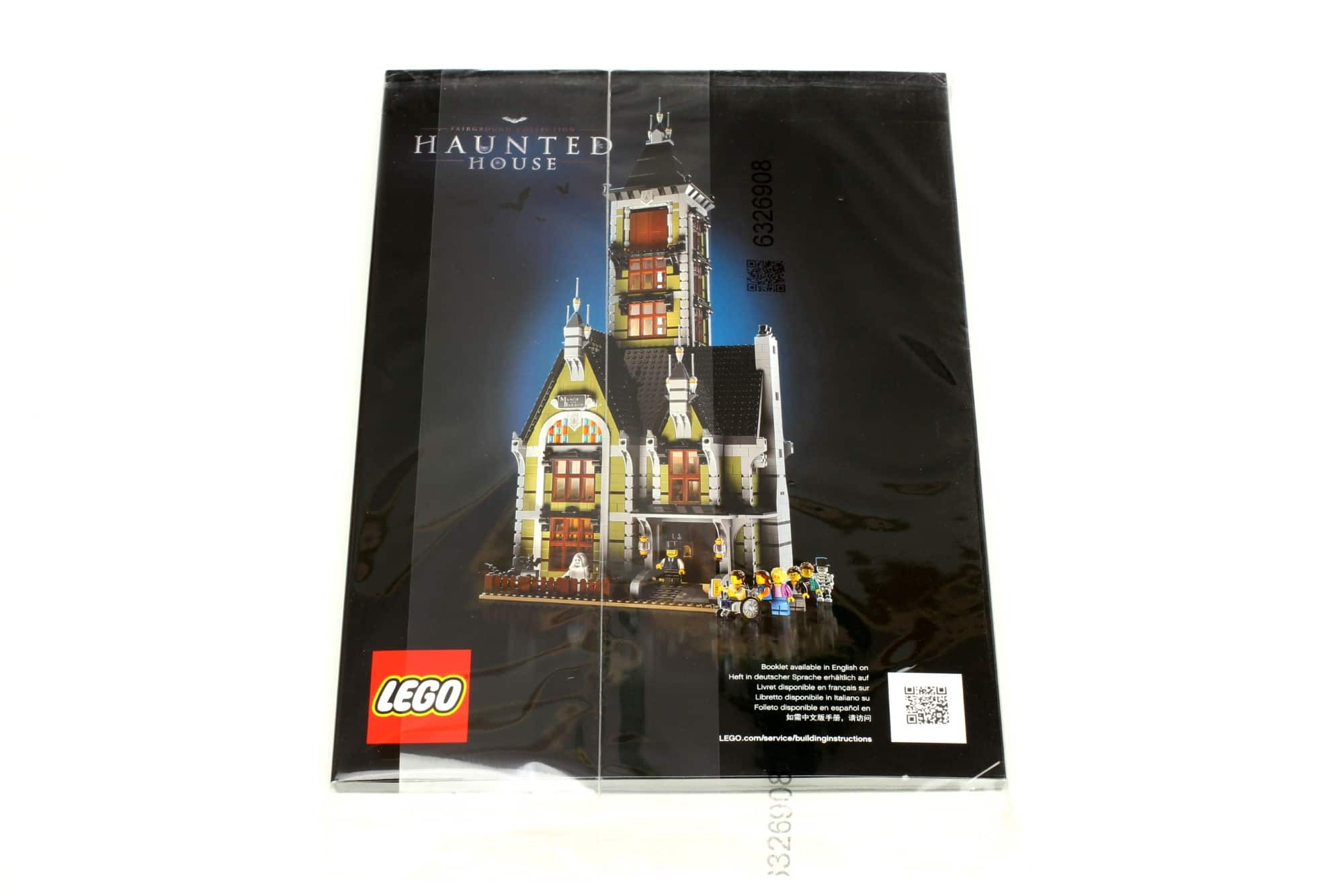 LEGO Fairground Collection 10273 Haunted House Innenkarton Anleitung