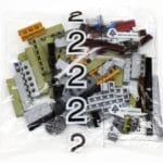 LEGO Fairground Collection 10273 Haunted House Innenkarton Tüte Bauschritt 2