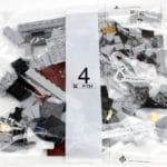 LEGO Fairground Collection 10273 Haunted House Innenkarton Tüte Bauschritt 4