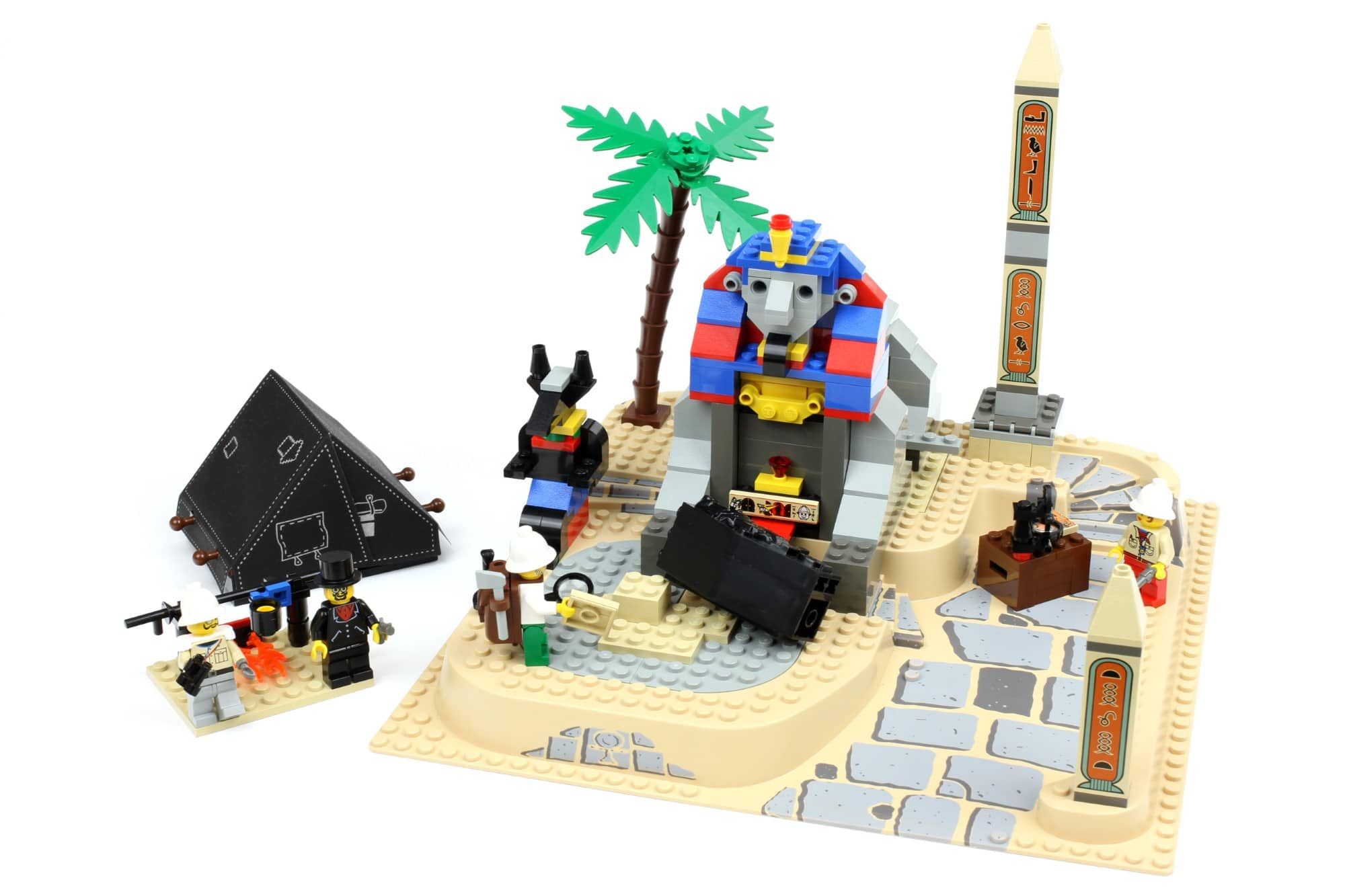 LEGO Fairground Collection 10273 Haunted House Vergleich Ägypten Sphinx