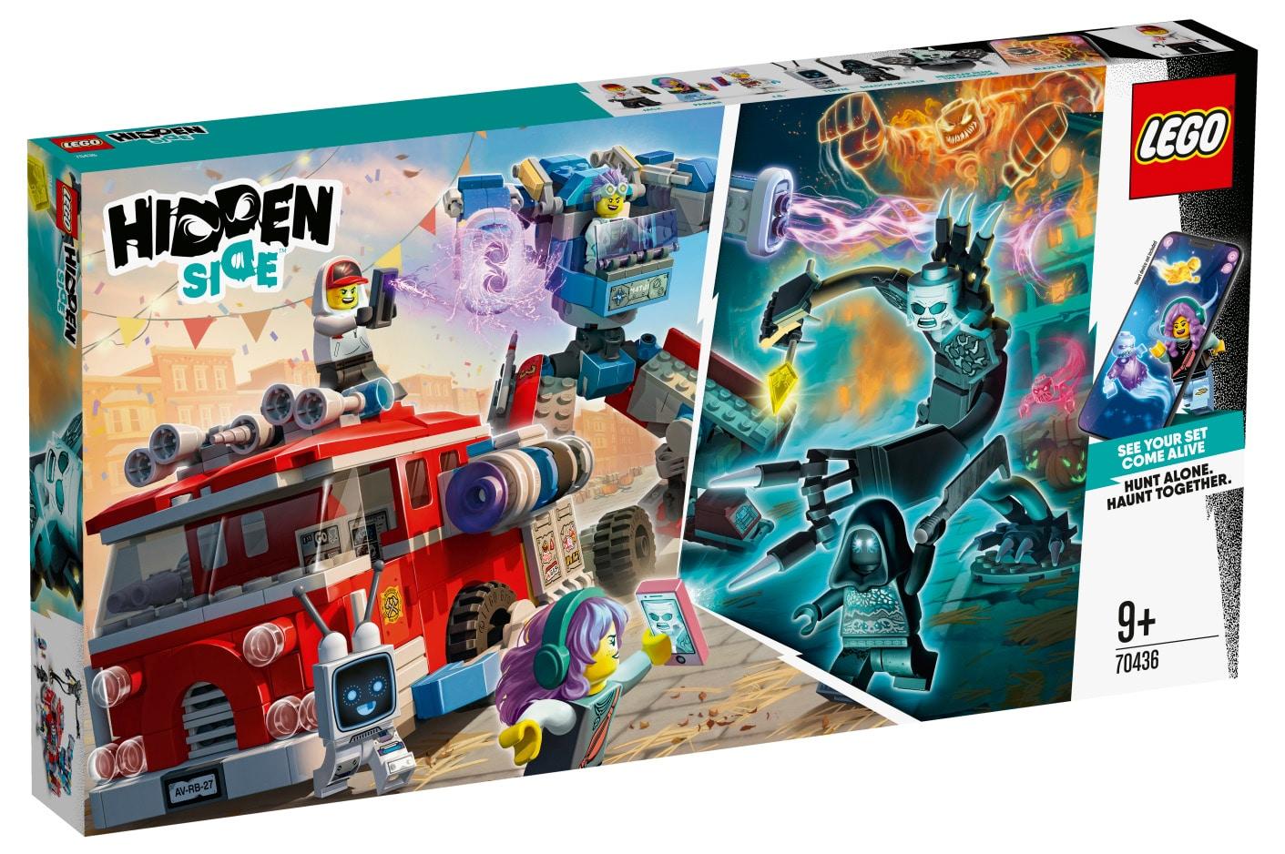 LEGO Hidden Side 70436 Phantom-Feuerwehrauto 3000