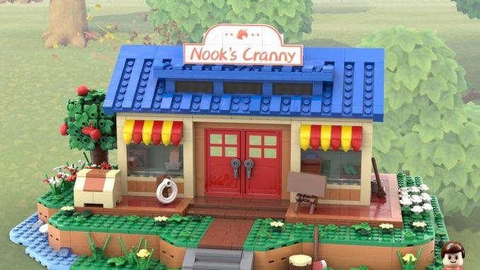LEGO Ideas Animal Crossing New Horizons Nook Cranny (1)
