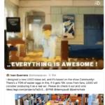 LEGO Ideas Commmunity Schauspieler auf Twitter