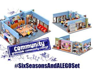 LEGO Ideas Entwurf Greendale Community College