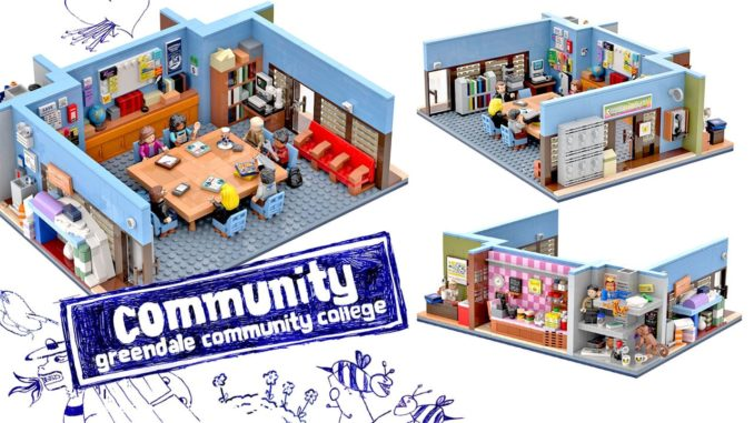 LEGO Ideas Entwurf Greendale Community College