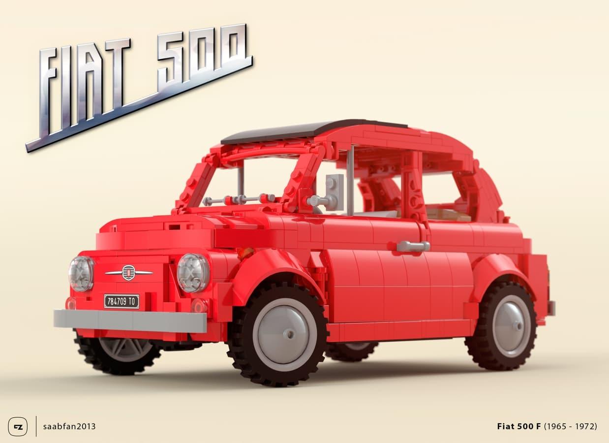 LEGO Ideas Fiat500