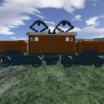 LEGO Ideas Krokodil Lokomotive Entwurf 1