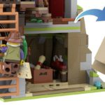 LEGO Ideas Mountain Windmill 12