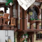 LEGO Ideas Mountain Windmill 13