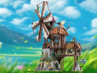 LEGO Ideas Mountain Windmill