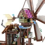 LEGO Ideas Mountain Windmill 6