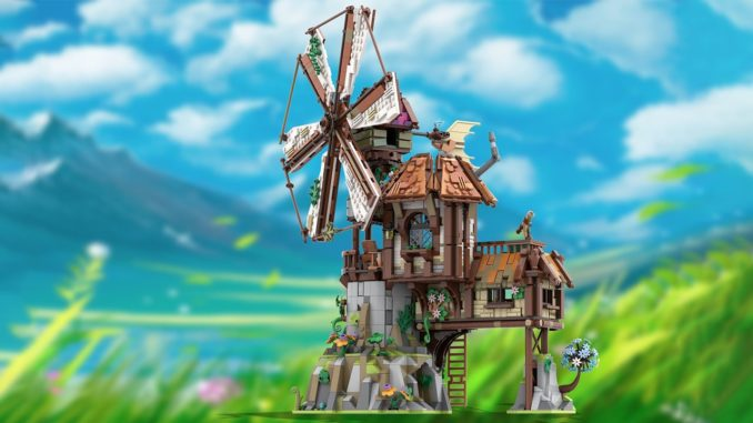 LEGO Ideas Mountain Windmill