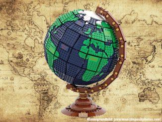 LEGO Ideas The Earth Globe
