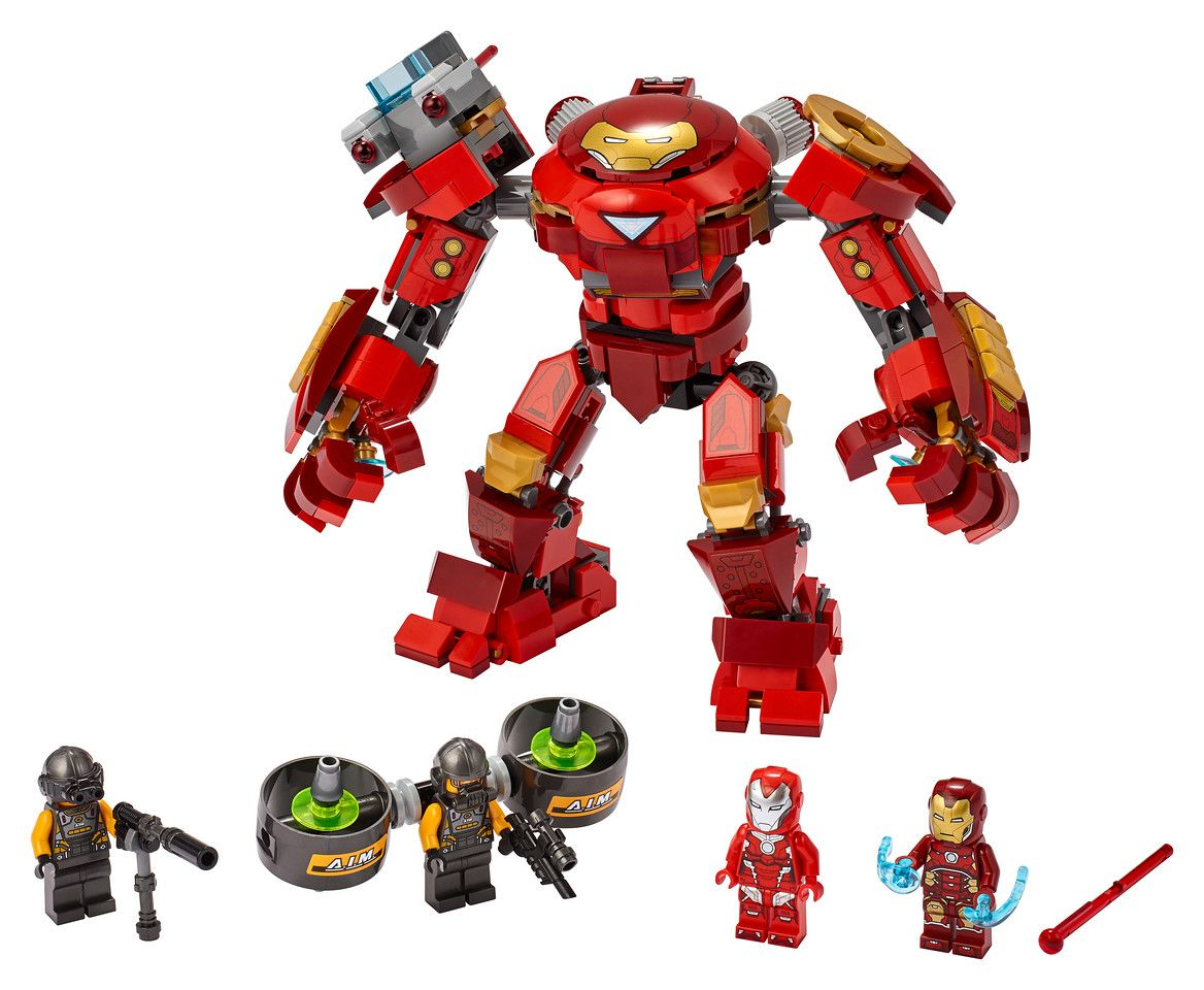 LEGO Marvel 76164 Iron Man Hulkbuster