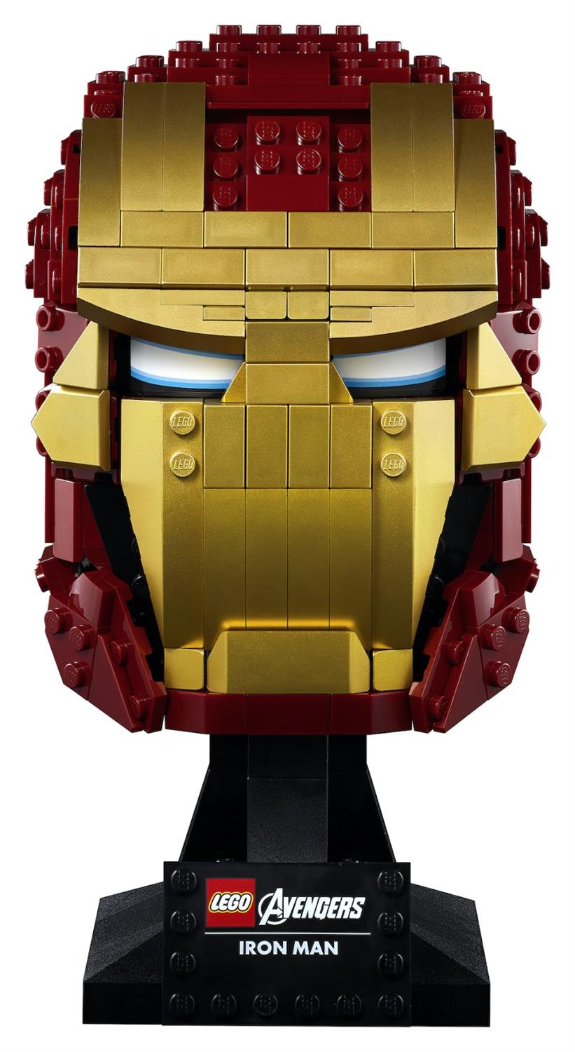 LEGO Marvel 76165 Iron Man Helm 1
