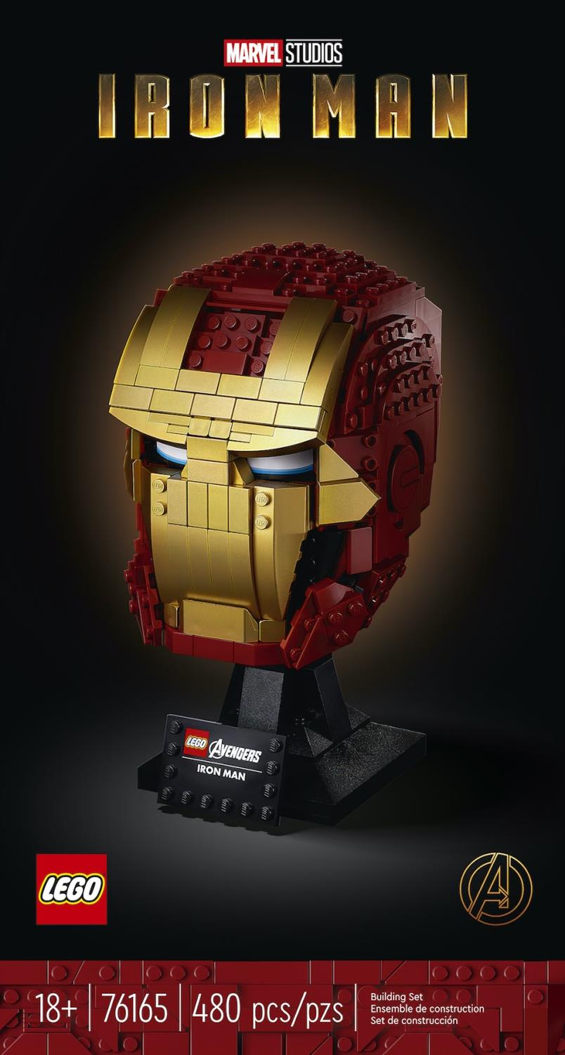 LEGO Marvel 76165 Iron Man Helm