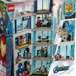 LEGO Marvel 76166 Avengers Tower Battle 4