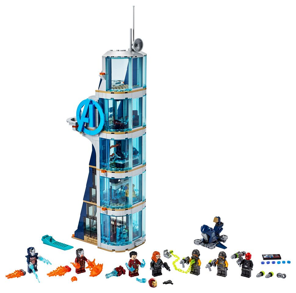 LEGO Marvel 76166 Avengers Tower Battle