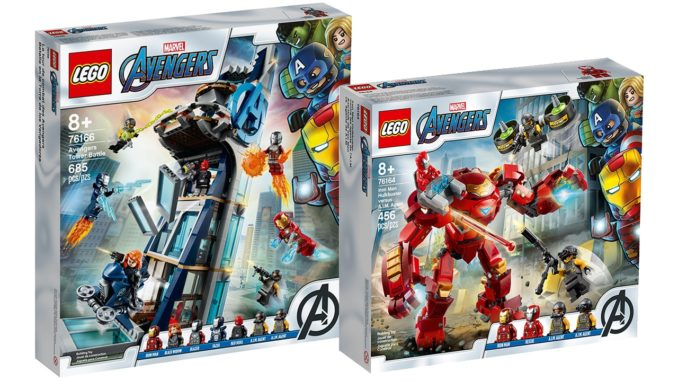 LEGO Marvel Avengers Tower Hulkbuster