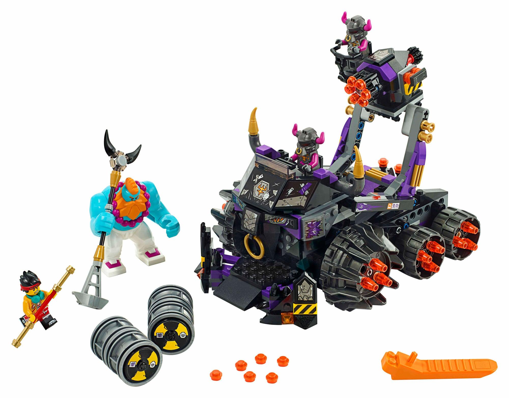 LEGO Monkie Kid 80007 Iron Bull Tank (3)