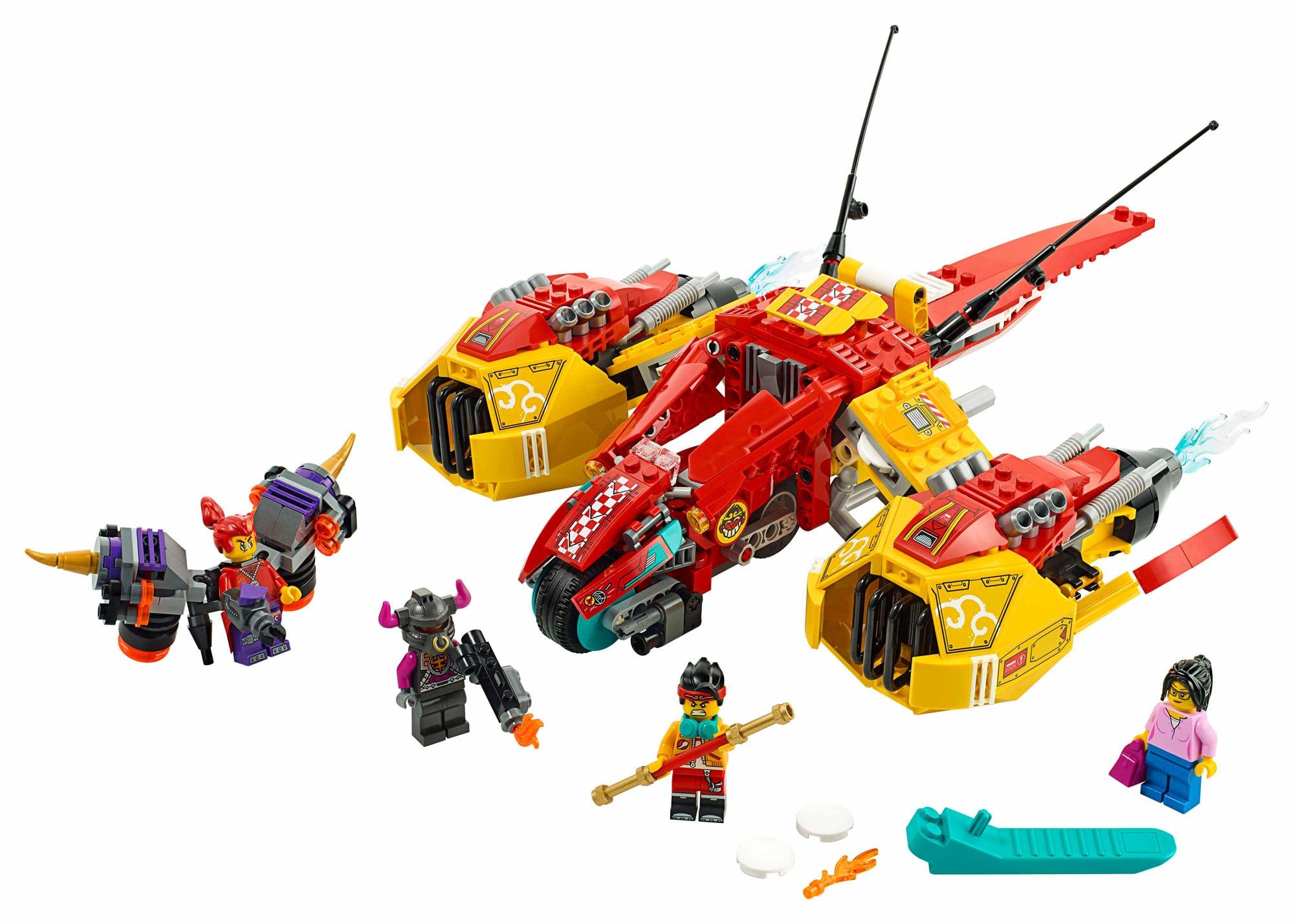 LEGO Monkie Kid 80008 Monkie Kids Cloud Jet (1)