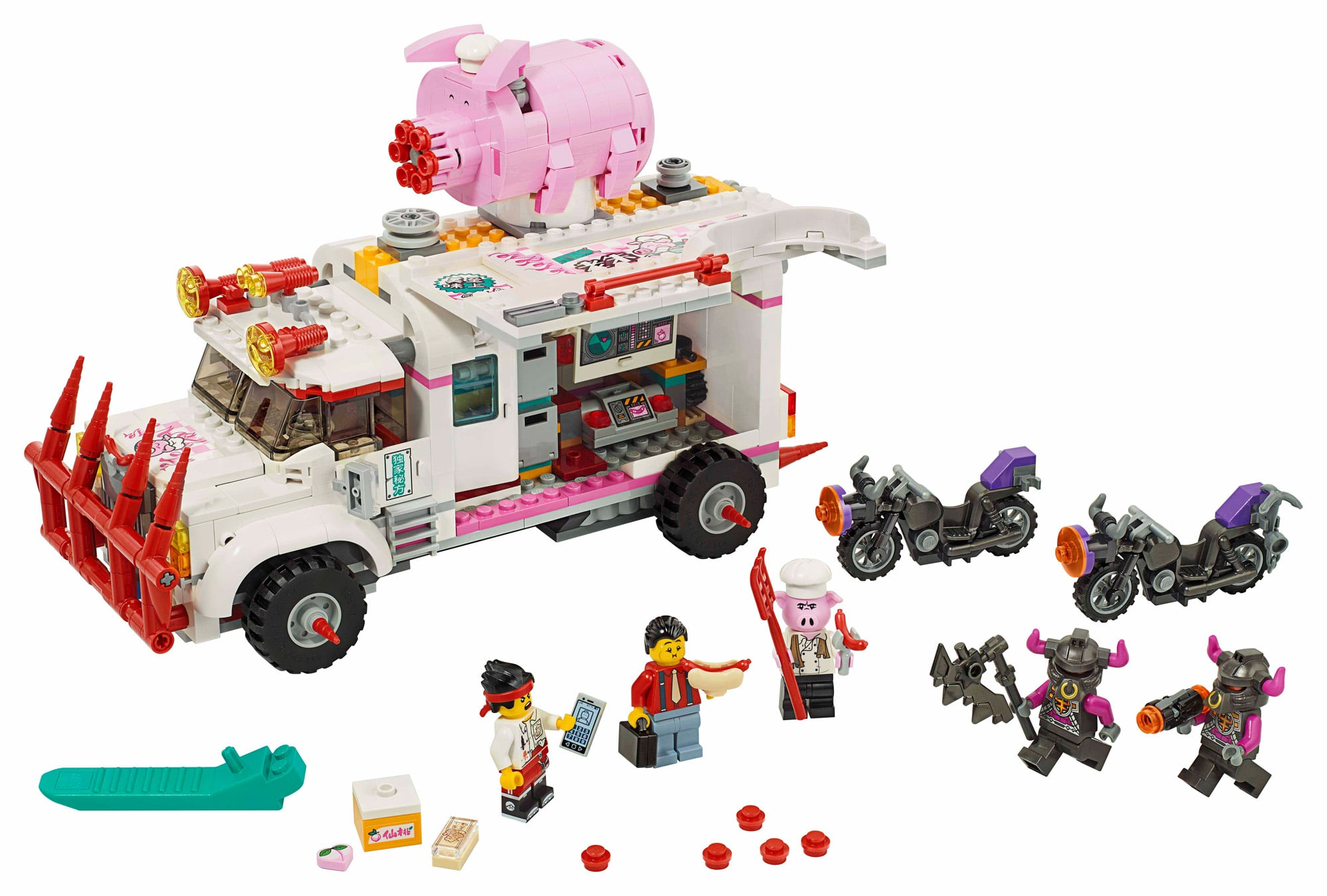 LEGO Monkie Kid 80009 Pigsys Food Truck (3)