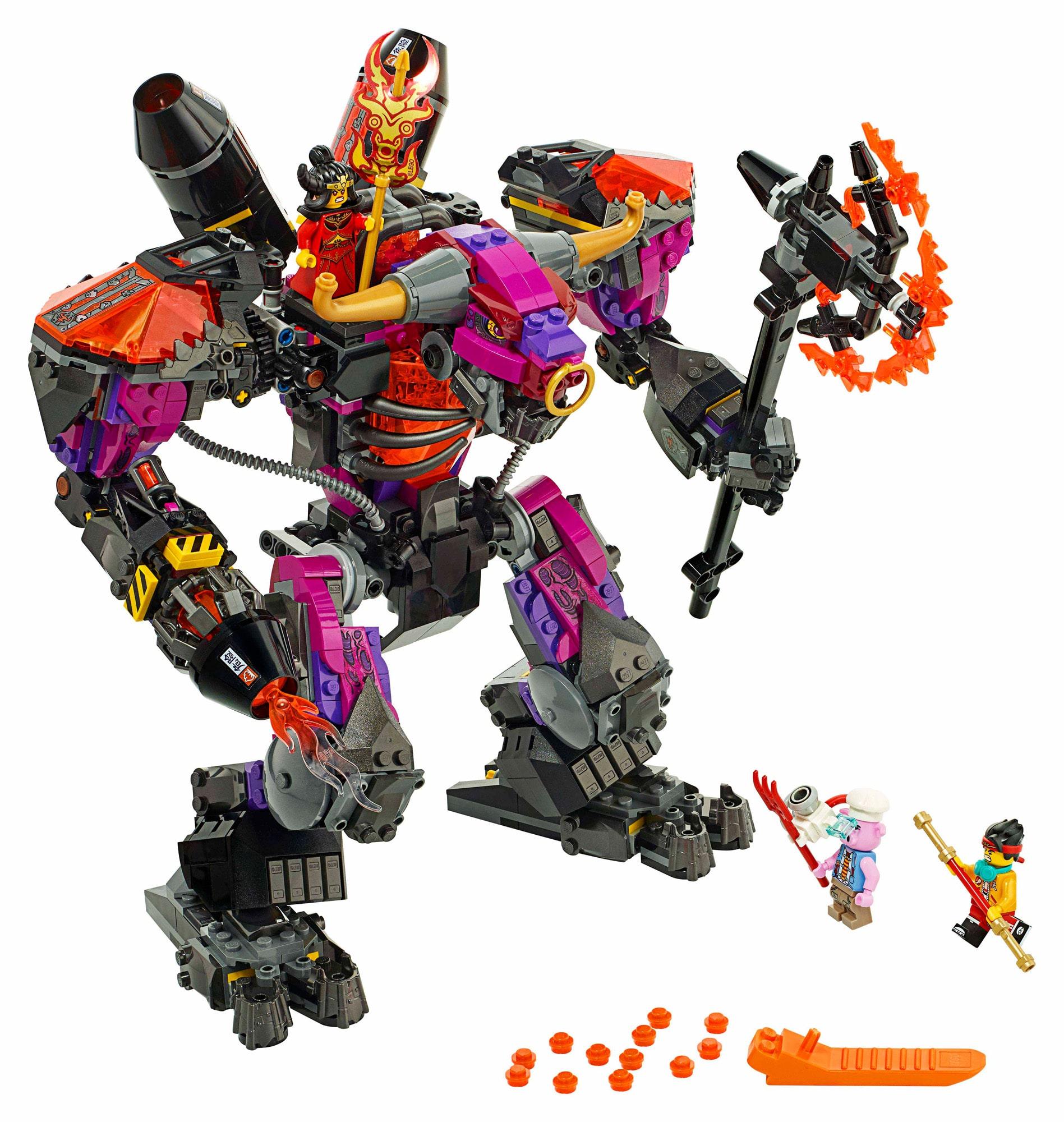 LEGO Monkie Kid 80010 Demon Bull King (2)