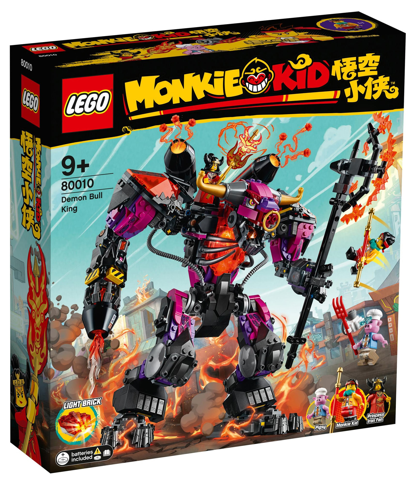 LEGO Monkie Kid 80010 Demon Bull King