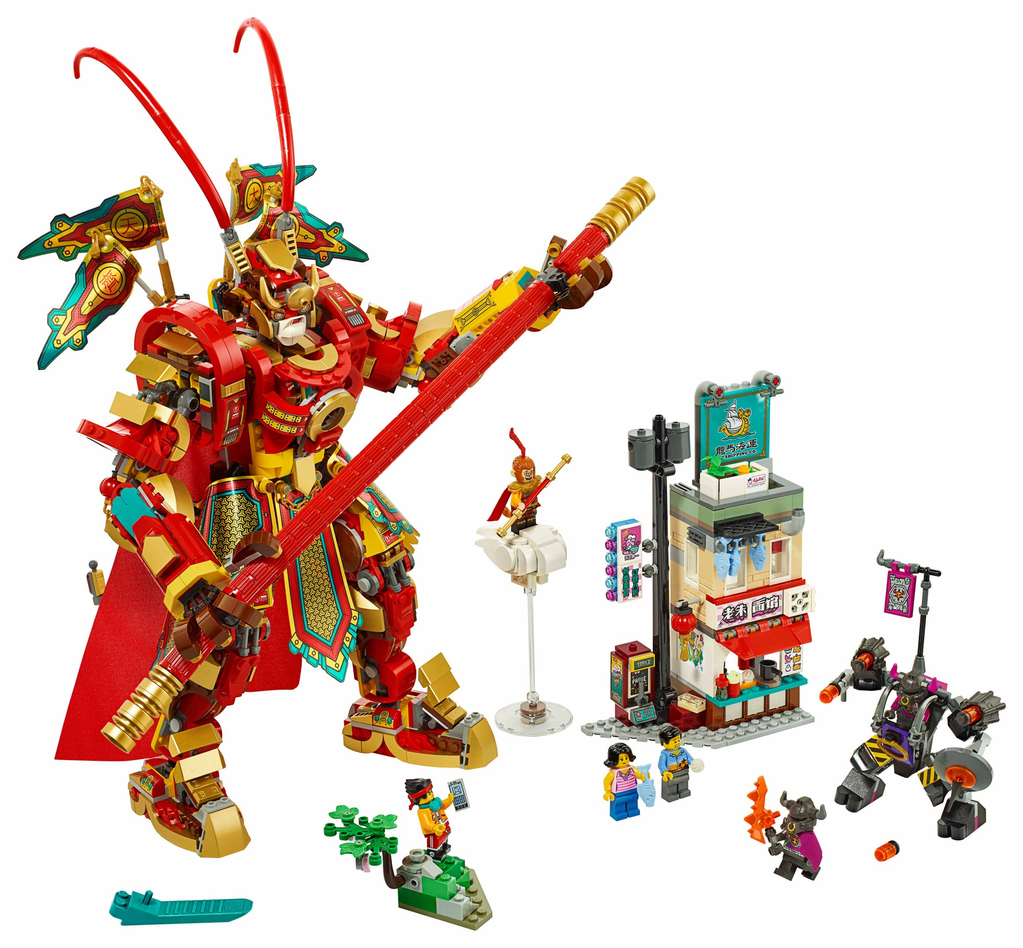 LEGO Monkie Kid 80012 Monkey King Warrior Mech (1)