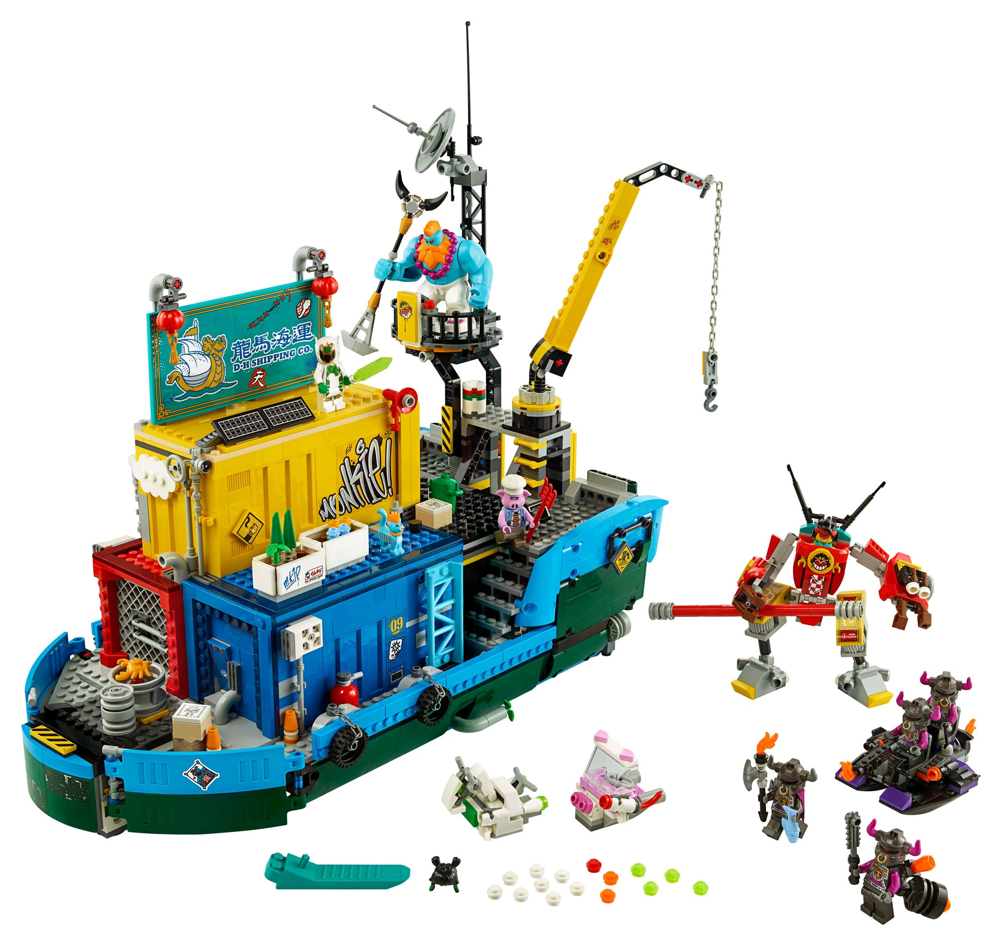 LEGO Monkie Kid 80013 Monkie Kids Team Secret Hq (3)
