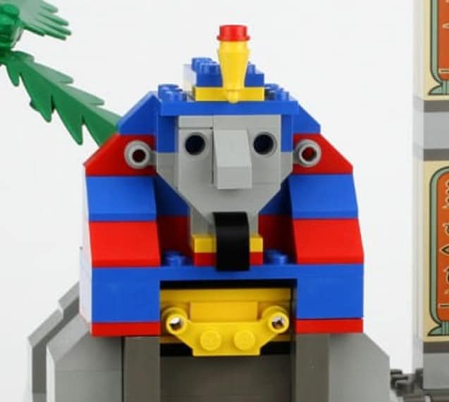 LEGO Shinx Statue 1