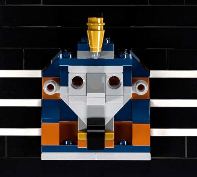 LEGO Shinx Statue 2
