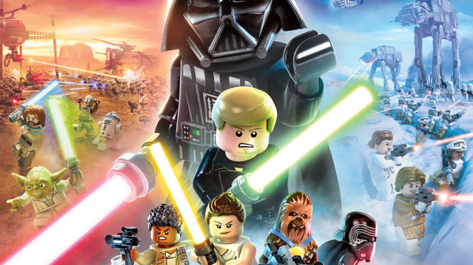 LEGO Star Wars The Skywalker Saga Cover