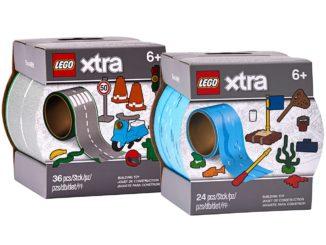 LEGO Strassen- und Wasser-Klebeband