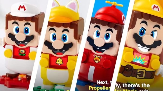 LEGO Super Mario Kostueme