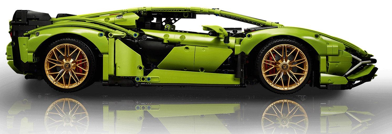 LEGO Technic 42115 Lamborghini Sian Vergleich 2