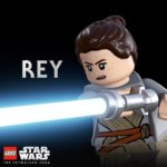 LEGO The Skywalker Saga Charakter Poster Rey