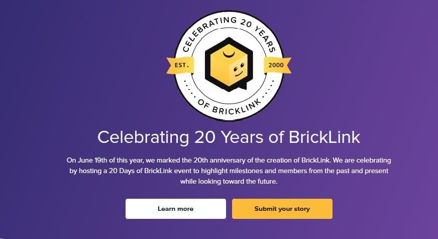 Bricklink 20 Years