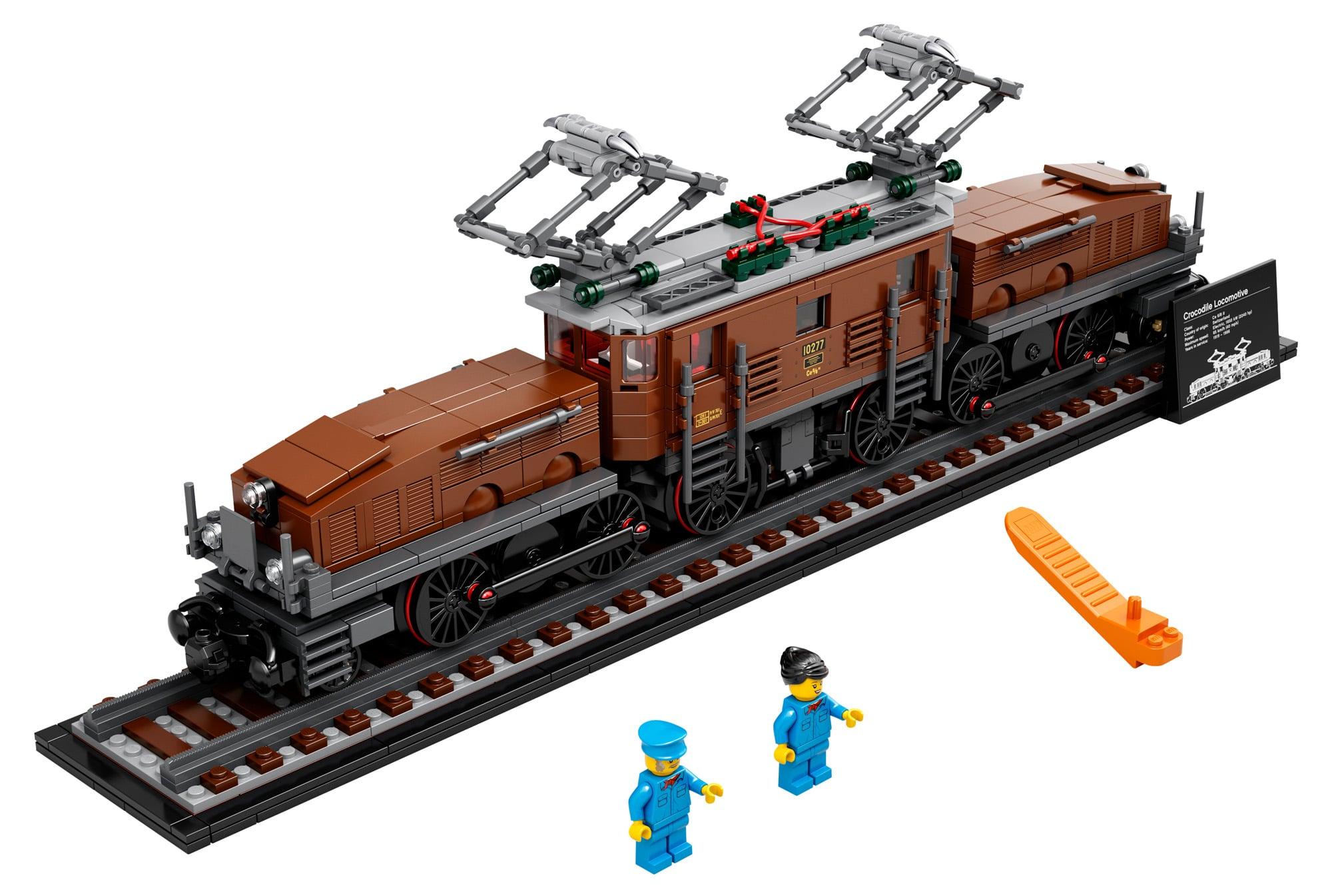 LEGO 10277 Krokodil Lokomotive