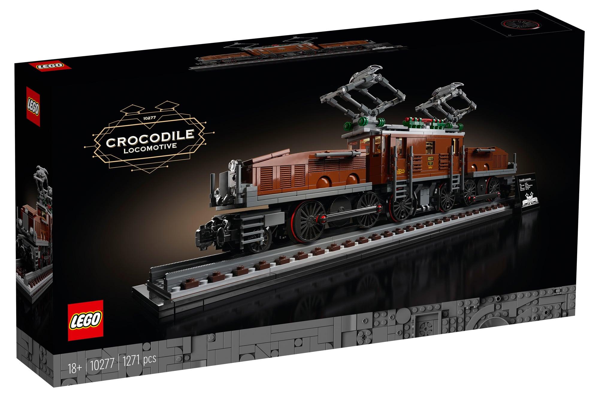 LEGO 10277 Krokodil Lokomotive (Box Vorderseite)