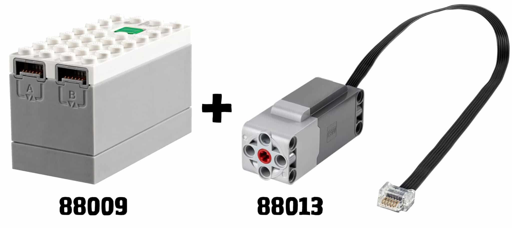 LEGO 10277 Motorisierung